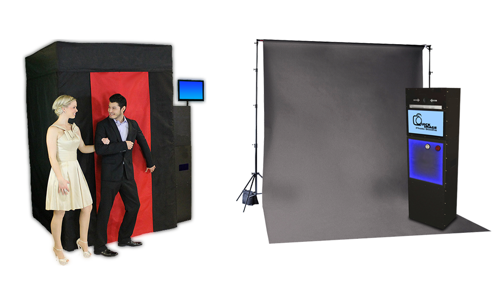Enclosed & Open Air Photo Booths